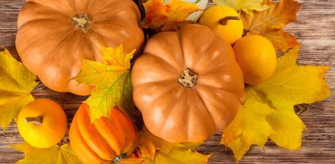 Jesienna maseczka z dyni
