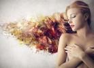 farbowanie włosów - bibuła