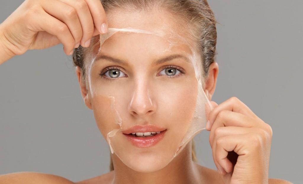 peeling chemiczny w gabinecie kosmetycznym