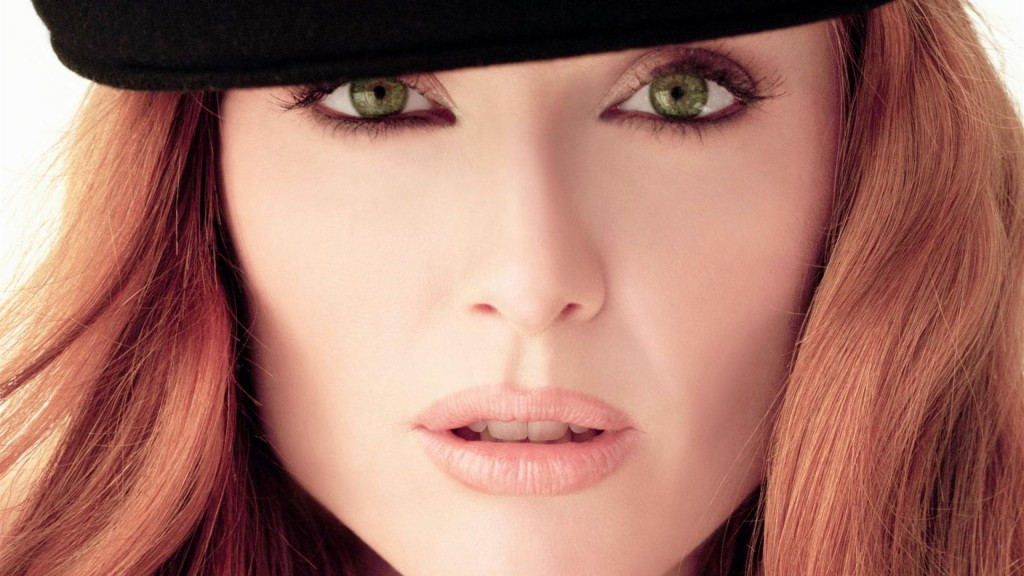 zielone oczy - makijaz